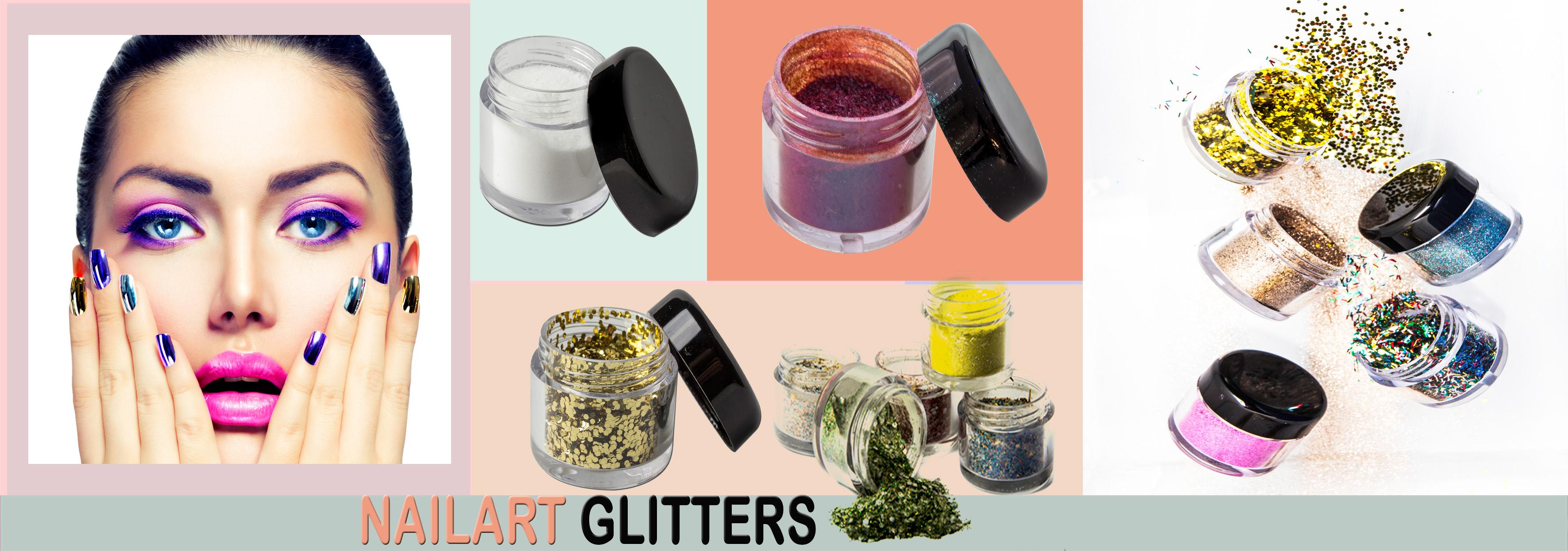 Nailart glitters