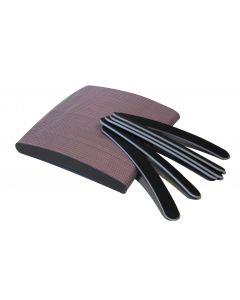Nagelvijl boomerang zwart per pak.