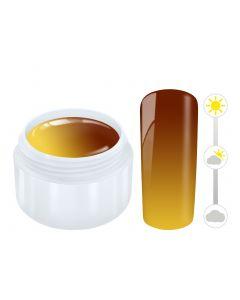 Color effect solar gel orange